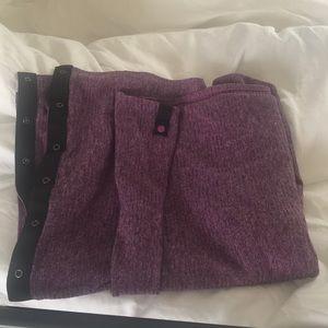 Lululemon purple scarf